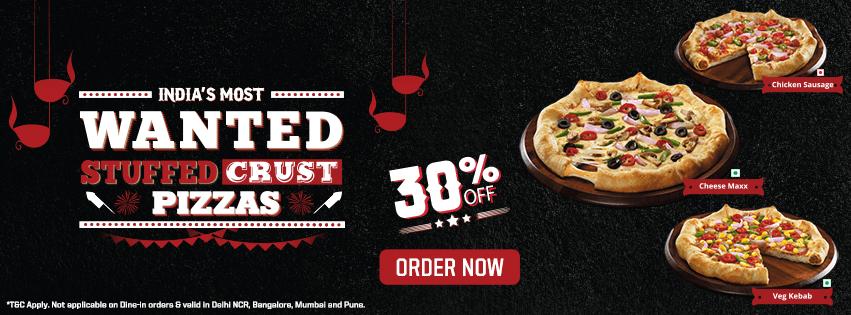 Buy 2 Pizzas At 50 Percent Off