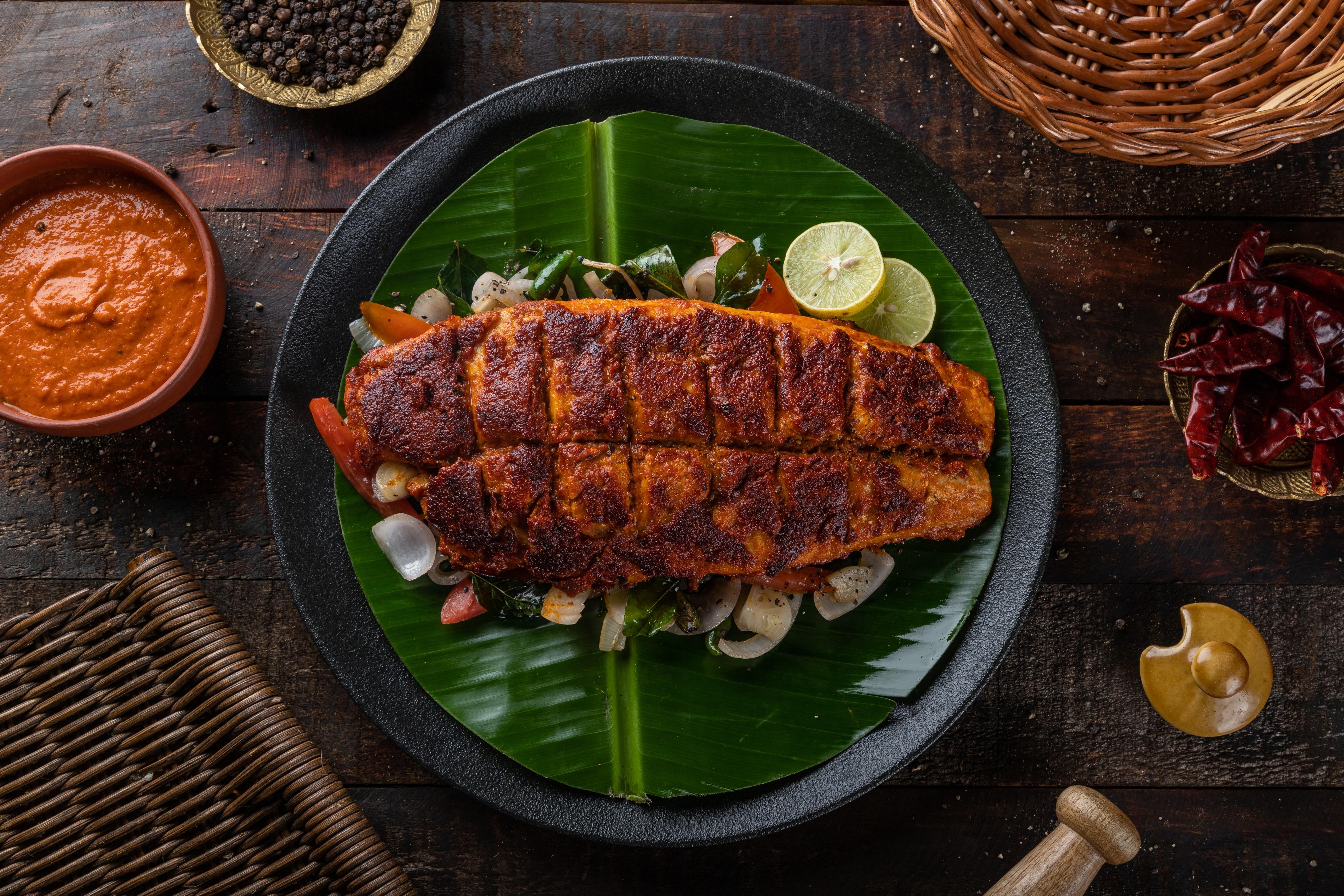 Kerala Tawa Fish Fry