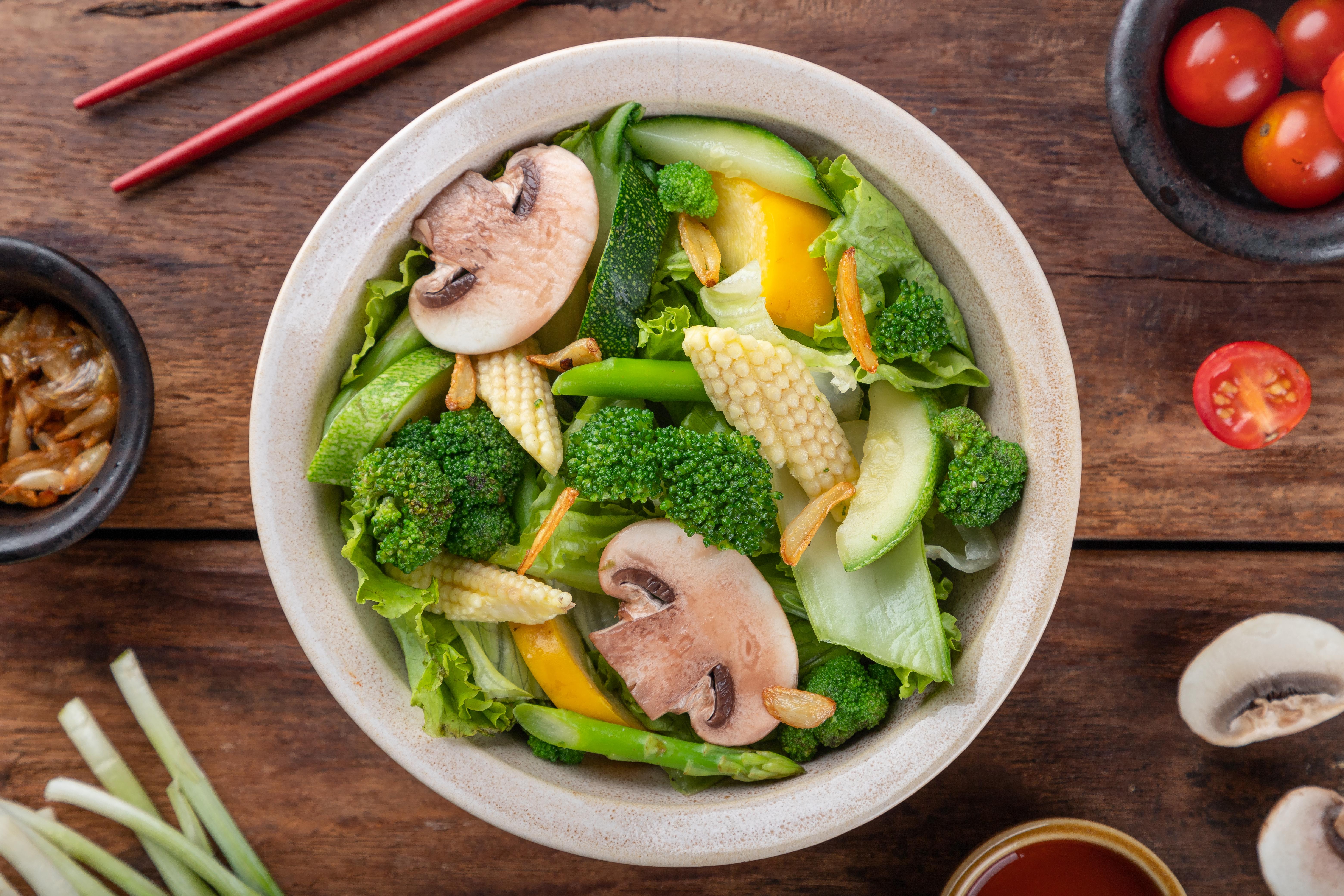 Stir Fry Greens with Waterchestnut