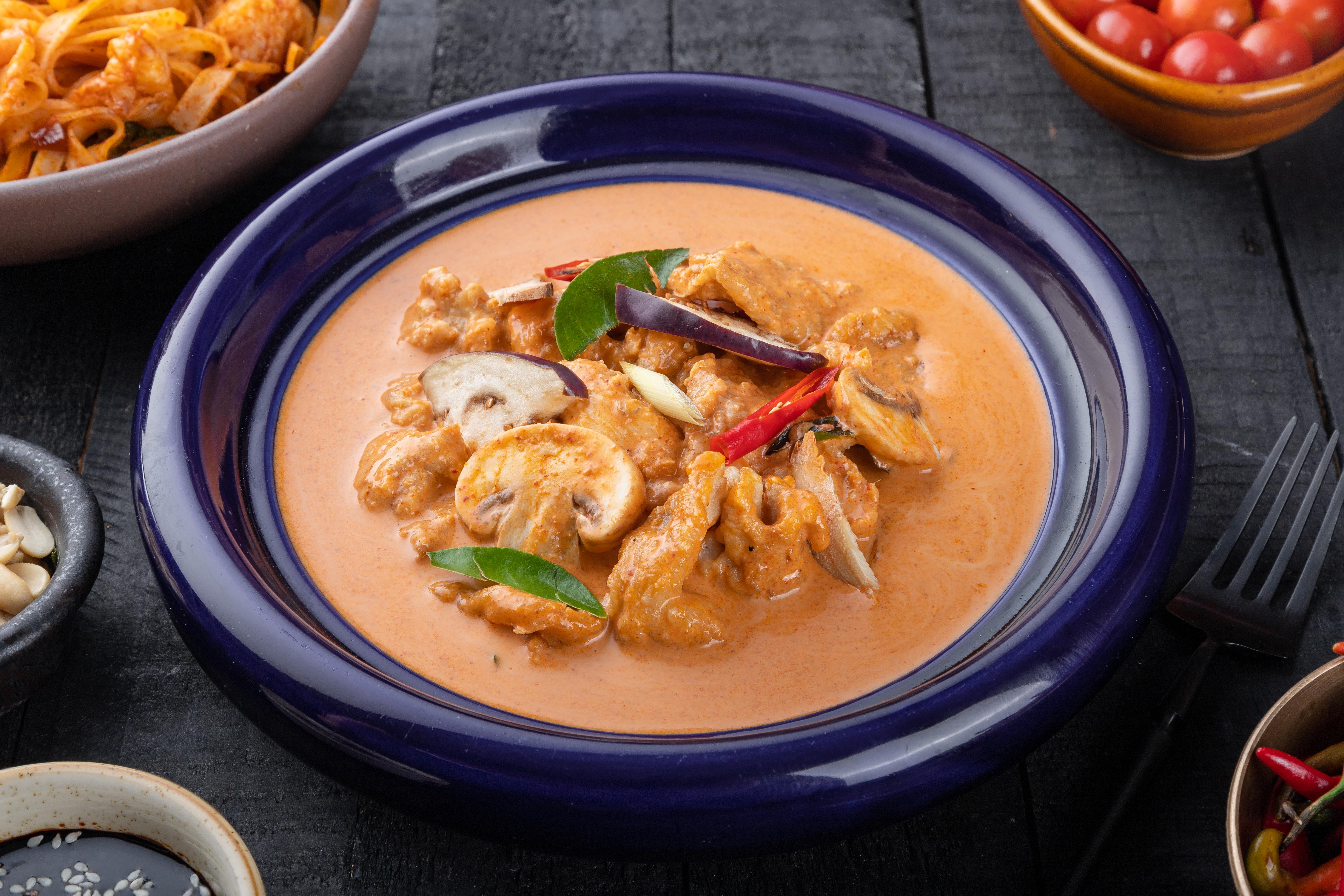 Thai Chicken Curry Red
