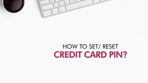 How to set/reset credit card PIN  Axis Mobile App