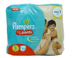 PAMPERS PANTS S 86S