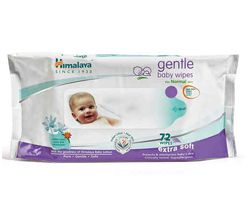 HIMALAYA BABY WIPES 72S